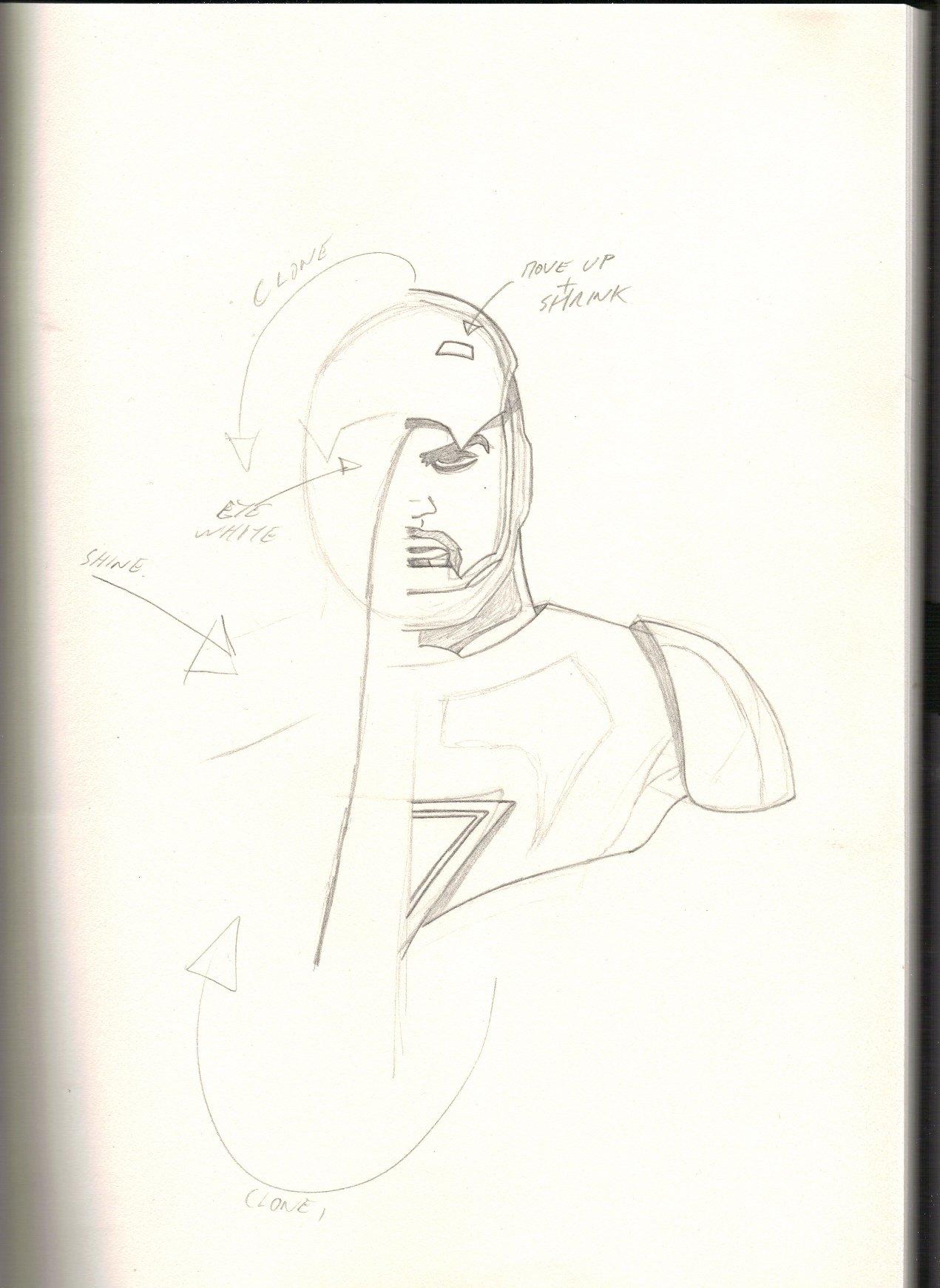 The lazy man way to draw.
